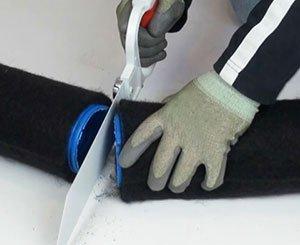 Tutorial: How to cut the Batifibre drain?