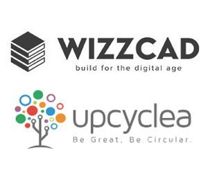 Wizzcad joins forces with Upcyclea to create the 1st circular smartbuilding solution