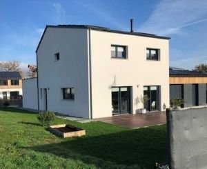 Passive houses in Ytong Energie in Carquefou in the largest eco-district in France
