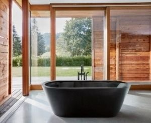Bette bathtubs are now available in matte black