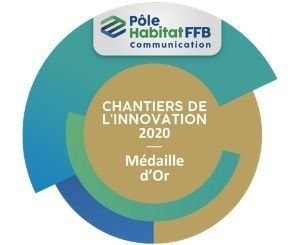 The Somfy air program rewarded with the innovation trophy of the Challenge Pôle Habitat FFB