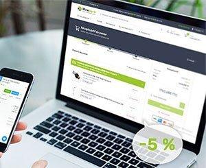 Obat invoicing software, partner of the online sales site for building professionals, Warmango.fr