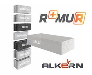 Alkern R + Mur: the solution for optimizing the thermal performance of multi-storey buildings