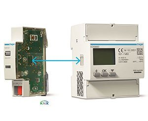 Hager enriches its KNX offer with a communication gateway for energy meters