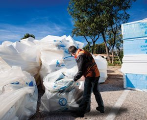 The Knauf Group engages its customers in the Circular Economy of PES with Knauf Circular®