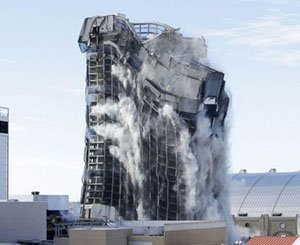 Old Trump casino imploded in Atlantic City
