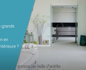 Large-dimension tile, an architectural trend