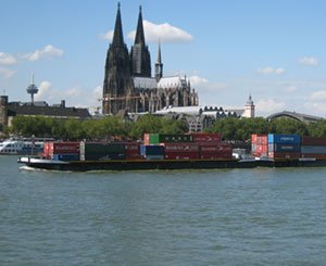 River transport of goods in decline in 2020