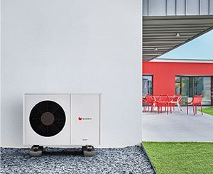New Saunier Duval heat pump intended for renovation and still manufactured in France