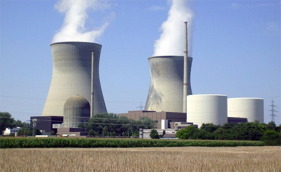 Gundremmingen nuclear power plant - © Felix König via Wikimedia Commons - Creative Commons License