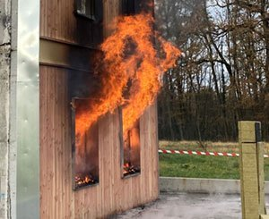 """14 players in wood construction are coming together within the """"Groupe Feu"""" to develop a new wood facade solution"""