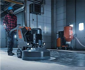 Husqvarna Constructions Products France expands its range of floor grinders and offers a global offer for all surfaces