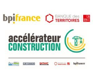 Bpifrance and Banque des Territoires launch the first Construction Accelerator promotion