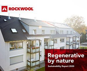 The Rockwool Group unveils the results of its sustainable development report for the year 2020