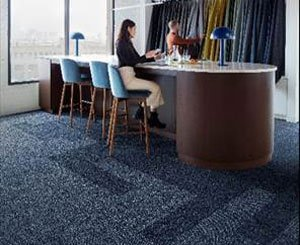 Interface launches Embodied Beauty ™ in France, the first carbon-negative carpet tiles