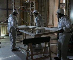 Hôtel de la Marine: carpentry restoration operation