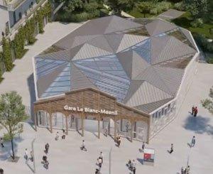 The future Le Blanc-Mesnil station