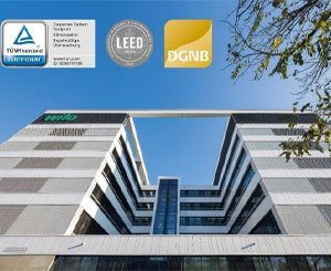 Wilo achieves climate neutrality and receives LEED Gold and DGNB Gold certifications