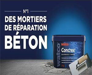 The new Concrex® Carbon Fiber