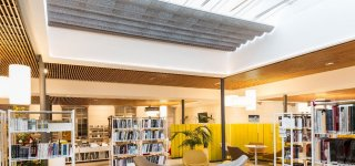 The Tomi Ungerer media library in Brunoy (91) is equipped with Solaria awnings from Reflex'Sol
