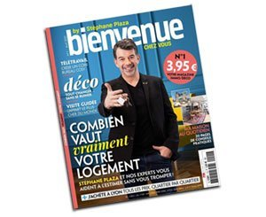 Stéphane Plaza launches his magazine on real estate and decoration