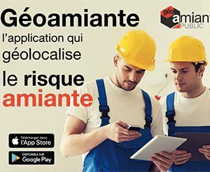 Géoamiante, a free application that geolocates the asbestos risk