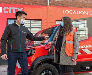 Loxam turns its LCV fleet green with the new 6100% electric Goupil GXNUMX