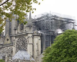 Two years after the fire, the final sprint to complete the securing of Notre-Dame