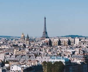Top 10 most popular cities for French people in 2020