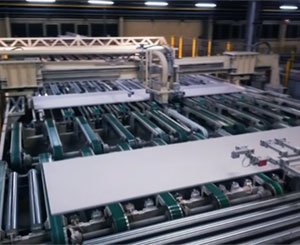 Discover the production of plasterboard according to Knauf