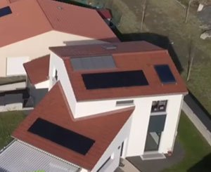 Optimized design and construction of POSitive Energy Houses