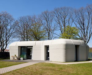 Saint-Gobain inaugurates the world's first detached house entirely made of 3D printed concrete