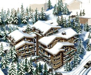 A luxury chalet, abandoned in Courchevel, bought for 24 million euros