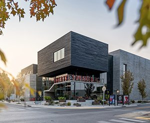 New theater in Arkansas combines sustainable materials with modern design