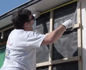 Fortex CLIC 180 cladding from Freefoam - The opinion of a Point.P craftsman