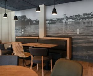 La Panière bakery opts for HP Latex technology for its acoustic wall decoration