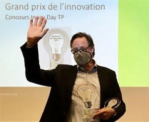 CHAB concrete socks win the InnovDay TP, public works innovation competition