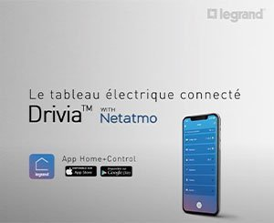 Control the light with the Legrand Drivia with Netatmo connected electrical panel