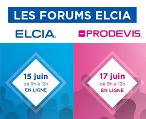 Elcia brings together professionals from the Carpentry, Store, Closure sector around two digital Forums