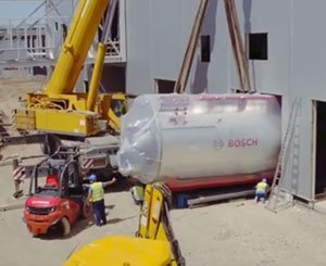 Heating and industrial heat of the future with Bosch