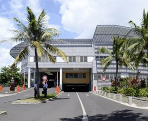 In Polynesia, maritime air conditioning for the hospital soon to be completed