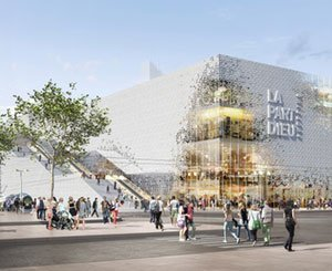 The transformation of the La Part Dieu shopping center in Lyon is coming to an end