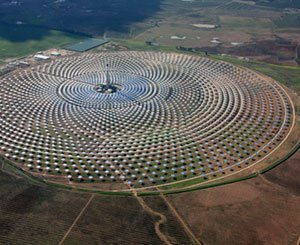 Inauguration in Chile of the largest solar thermal power plant in Latin America