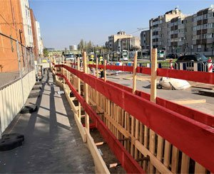 Sénéo is carrying out a large-scale project for the extension of the T1 tramway in Colombes
