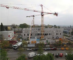 ECOPact, low-carbon concretes from LafargeHolcim for the new Sarthe Cancer Center