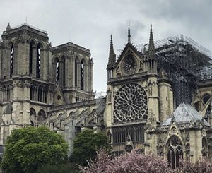 Call for funds to redevelop the interior of the Cathedral of Notre-Dame de Paris