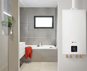 Fit®, the new range of wall-mounted gas condensing boilers from Saunier Duval
