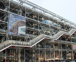 """The renovation of the emblematic """"caterpillar"""" of the Center Pompidou is completed"""
