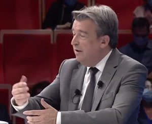 General Assembly of Construction 2021 - Olivier Salleron facing the members