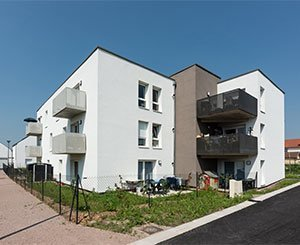 Creation of an eco-district with high energy performance housing in Lunéville